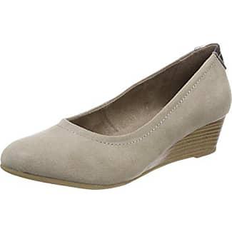 Softline 22466, Zapatos de Tacón para Mujer, Beige (Taupe Struct. 342), 36 EU