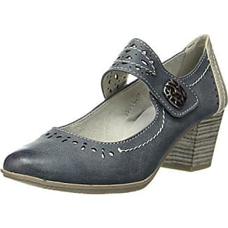 24366, Zapatos de Tacón para Mujer, Azul (Navy), 37 EU Soft Line
