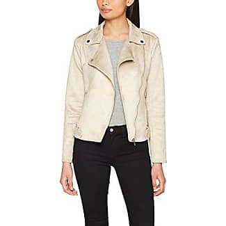 s.Oliver 5704512401, Chaqueta para Mujer, Beige (Bleached Sand 8027), 46