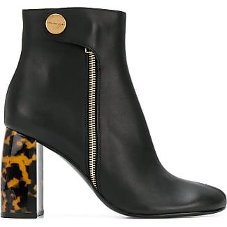 Stella McCartney Turtledove ankle boots - Black farfetch neri Precio Barato Al Por Mayor En Línea Descuentos Descontar Últimas Colecciones Tienda De Oferta Barata En Línea vW4isMPx