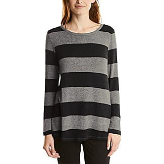 Street One 311849, Camiseta para Mujer, Multicolor (Cyber Grey Melange 30767), 40