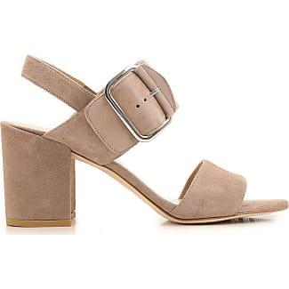 Sandalen für Damen Günstig im Outlet Sale, Felsengrau, Wildleder, 2017, 40 Stuart Weitzman