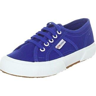 Superga 2750 Macramej - Zapatillas Unisex niños, Blue (blue Navy), 30