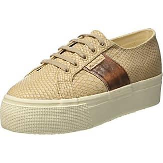Superga 2790 Linrbrropew, Unisex Erwachsene Sneakers, Beige, 38 EU