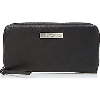 Britta Big Zip Around Wallet, Womens Grau (Graphite Comb), 2x10x19.5 cm (B x H T) Tamaris
