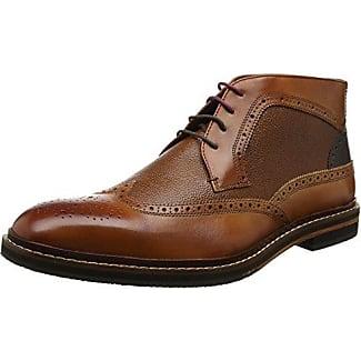 Ted Baker Deelani, Zapatos de Cordones Brogue para Hombre, Marrón (Tan), 41 EU