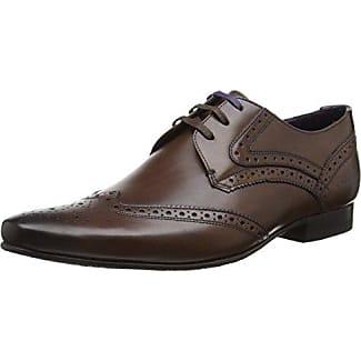 Ted Baker Prycce, Zapatos de Cordones Oxford Para Hombre, Gris (Grey), 43 EU