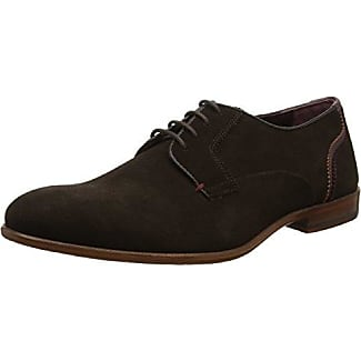 Ted Baker Leam - Zapatos de Cordones de Cuero para Hombre Negro Negro 39 EeTqLcU