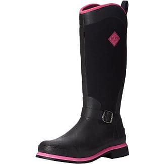 Reign Tall, Stivali da Donna, Nero(Schwarz (Black/Hot Pink)), 37 The Original Muck Boot Company