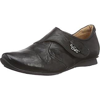 Think Guru Halbschuh - Zapatos con Cordones de Cuero Hombre, Color Negro, Talla 44.5