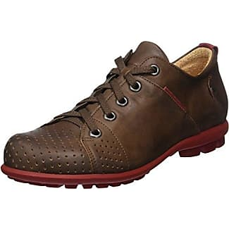 Think Zagg_282601, Zapatos de Cordones Brogue para Hombre, Marrón (Rum/Kombi 54), 45 EU