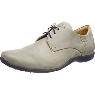 Think Kong_282657, Zapatos de Cordones Brogue para Hombre, Azul (Navy/Kombi 88), 42 EU