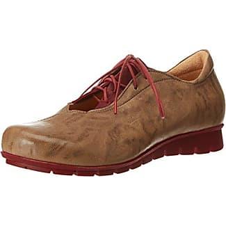 Waldläufer - Zapatos Oxford de Cuero Mujer, Color Multicolor, Talla 43 EU