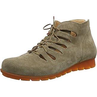 Shua, Zapatos de Cordones Derby para Mujer, Multicolor (Taupe/Kombi 27 Taupe/Kombi 27), 39 EU Think