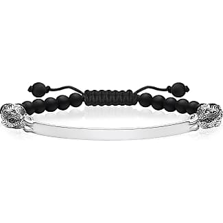 Thomas Sabo personalised bracelet black LBA0117-023-11-L19v Thomas Sabo 7xuixeR