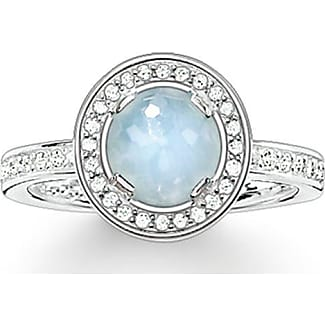 Thomas Sabo ring blue TR2028-644-1-48 Thomas Sabo ZDg3YE