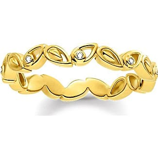 Thomas Sabo Anillo De Color Amarillo-oro Tr2127-413-39-48 Thomas Sabo WXgxQowdR