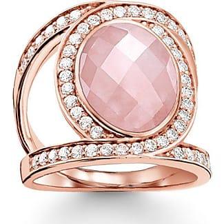 Thomas Sabo ring pink TR2015-537-9-48 Thomas Sabo RXjYO4gm
