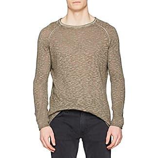 Bennett Linen, Camiseta para Hombre, Marrón (Vintage Dusty Mud 824), XL Tigha