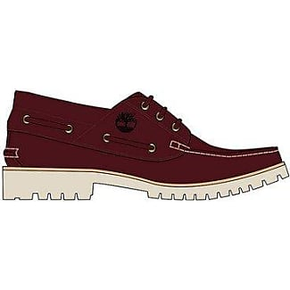 Chilmark 3-Eye Handsewn, Mocassins (Loafers) Homme, Rouge (Rootbeer Bayou D57), 41.5 EUTimberland