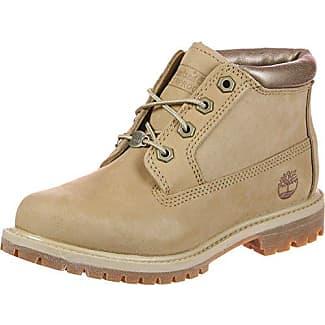 Timberland Damen Kenniston Nellie Chukka Boots, Gelb (Wheat Nubuck), 39 EU