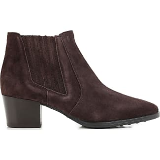 Boots for Women, Booties On Sale, Mud Brown, suede, 2017, 7.5 Tod's