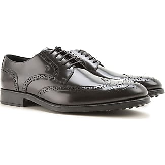 Lace Up Shoes for Men Oxfords, Derbies and Brogues On Sale, Black, Leather, 2017, 12 6 6.5 8.5 Tod's