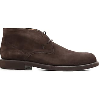 Desert Boots Chukka for Men On Sale, Dark Brown, Suede leather, 2017, 5 6.5 8.5 Tod's