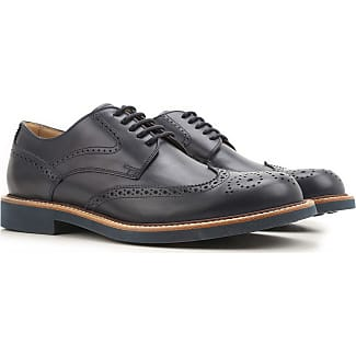 Lace Up Shoes for Men Oxfords, Derbies and Brogues On Sale, Bark brown, Leather, 2017, 10 10.5 5 6.5 7 9.5 Santoni