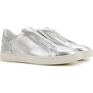 Sneakers for Women On Sale, White, suede, 2017, 2.5 Tod's