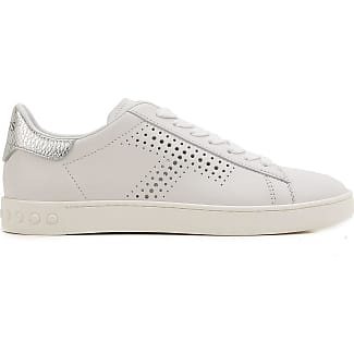 Slip on Sneakers for Women On Sale, Platinum, Leather, 2017, 3.5 4 7 7.5 Tod's