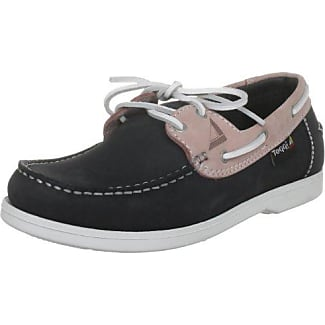 Capri, Chaussures plates femme - Bleu - Marine/Pink, 35.5 (3.5 UK)Toggi