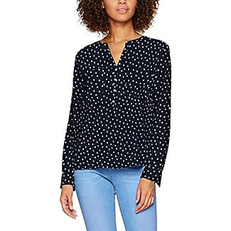 Tom Tailor Casual Printed Stripe Blouse, Blusa Mujer, Azul (Yonder Blue), 38