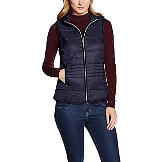 Tom Tailor Leichte Steppweste, Manteau sans Manche De Sport Femme, (Dim Blue), 40 (Taille Fabricant: Large)