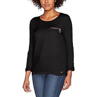 Tom Tailor Trendy Blouse Shirt, Blusa para Mujer, Negro (Black 2999), 42