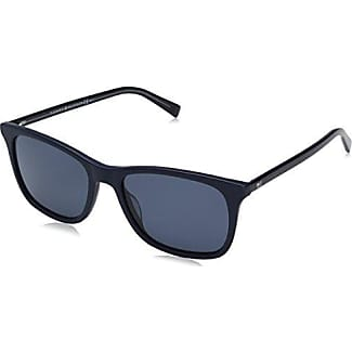 Unisex-Adults TH 1363/S O9 Sunglasses, Black Crystal Blue, 54 Tommy Hilfiger
