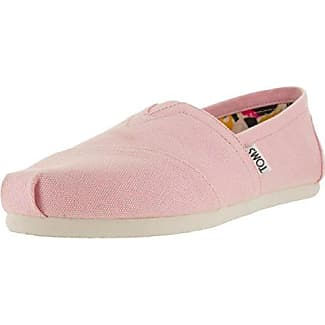 Canvas Classic Alpargata, Zapatillas de Estar por Casa para Mujer, Rosa (Pink Icing), 36 EU Toms