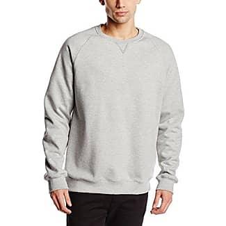Sweat- Shirt mit Reißverschluss - Sudadera de manga larga para hombre, color negro, talla 5XL Trigema