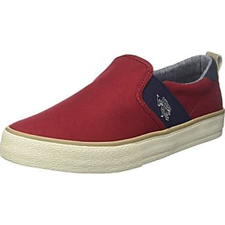 Turner, Slip on Homme - Rouge - Rosso (Red), 42 EUU.S.Polo Association