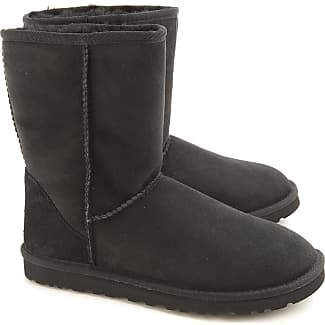 Boots for Women, Booties On Sale, Black, Suede leather, 2017, USA 6 UK 4 5 EU 37 JAPAN 230 UGG