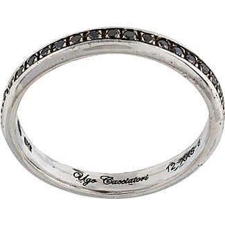 Ugo Cacciatori Ring for Women, Silver, Silver, 2017, XSmall