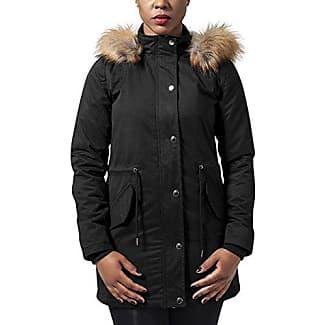 Urban Classics Ladies Basic Cotton, Parka para Mujer, Negro (Black 7), XX-Large