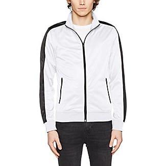 Track Jacket, Chaqueta para Hombre, Multicolor (Blk/Wht 50), X-Large Urban Classics