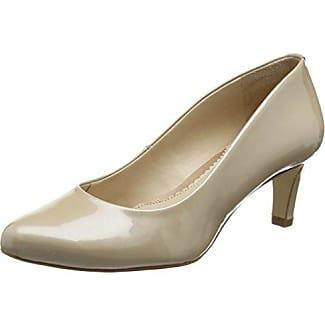 Van Dal Holt - zapatos de tacón de charol mujer, color Blanco, talla 40 (7 UK)