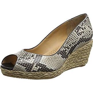 Paxton, Zapatos de Cuña Despuntados para Mujer, Beige (Powder), 8 UK/42 EU Van Dal