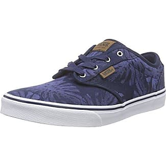 Vans UA Old Skool, Sneakers Basses Homme, Bleu (Washed Canvas bleu Radiance/Crown bleu), 44 EU