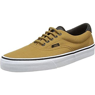 Authentic, Basses Mixte Adulte - Beige (Oxford & Leather/Black/TRUE White), 37 EU (4.5 UK)Vans