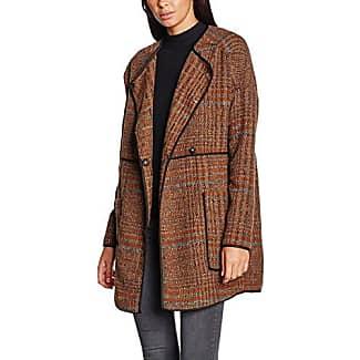 Vero Moda Vmprato Rich 3/4 Wool Jacket Noos, Abrigo para Mujer, Marrón (Tigers Eye), 40 (Talla del Fabricante: Large)