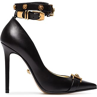 Pumps & High Heels for Women On Sale, Black, Leather, 2017, 2.5 Versace