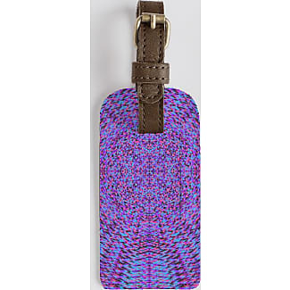 Leather Accent Tag - Purple Bougainvilleas by VIDA VIDA ZxeYFAOS